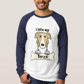 I Love My Borzoi T-Shirt
