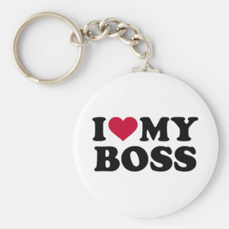 I love my boss key ring