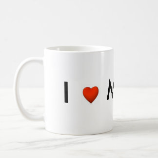 I Love My Boss Mug
