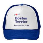 I Love My Boston Terrier (Female Dog) Trucker Hat