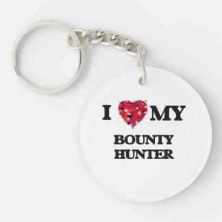 I love my Bounty Hunter Single-Sided Round Acrylic Key Ring