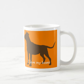 """I love my boxer"" Mug"