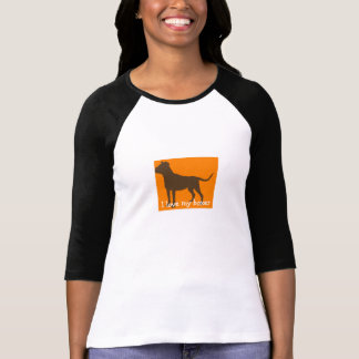 """I love my boxer"" T-shirt"