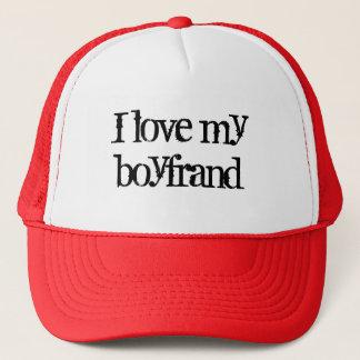I love my boyfrand trucker hat
