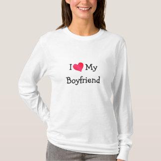 I Love My Boyfriend Ladies Hoody