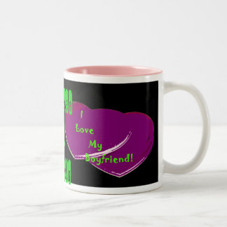 I Love My Boyfriend Mug (Change the names)