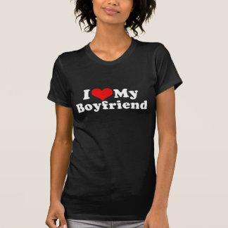 I Love My Boyfriend Valentine's Day T-Shirt