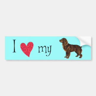 I Love my Boykin Spaniel Bumper Sticker