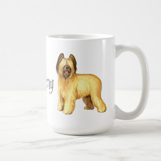 I Love my Briard Coffee Mug
