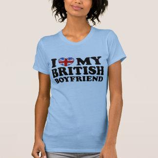 I Love My British Boyfriend T Shirt