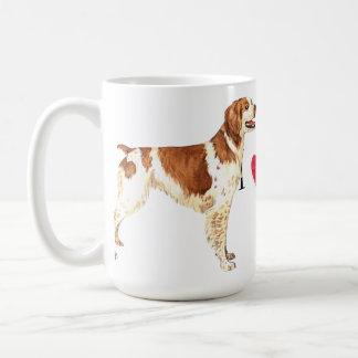 I Love my Brittany Classic White Coffee Mug
