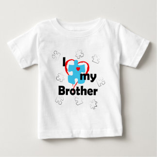 I Love My Brother - Autism Baby T-Shirt