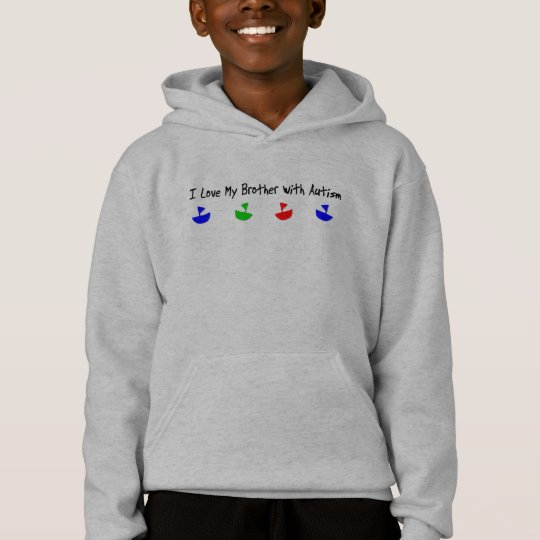 I love my brother with Autism T-shirt