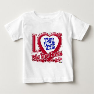 I Love My Brothers red heart - photo Shirts