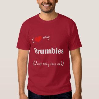 I Love My Brumbies (Multiple Horses) T-shirt