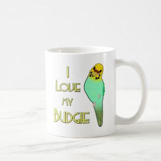 I Love My Budgie Coffee Mug