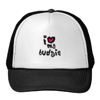 I Love My Budgie Mesh Hat