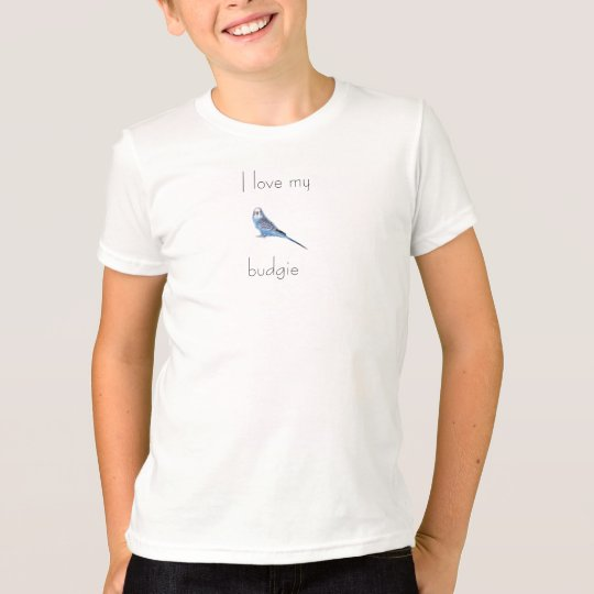 I love my budgie kids T-Shirt