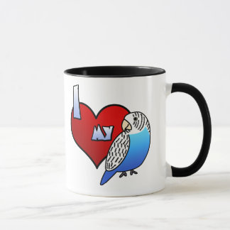 I Love my Budgie Mug