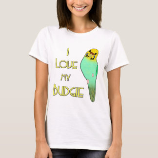 I Love My Budgie T-Shirt