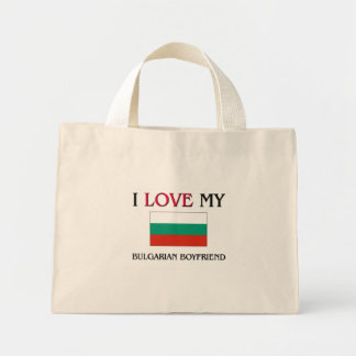 I Love My Bulgarian Boyfriend Tote Bags
