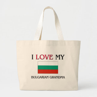 I Love My Bulgarian Grandma Canvas Bag