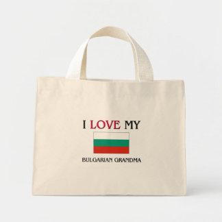 I Love My Bulgarian Grandma Mini Tote Bag