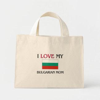 I Love My Bulgarian Mom Mini Tote Bag