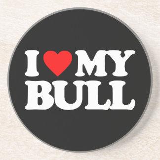 I LOVE MY BULL COASTER