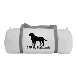 I Love My Bullmastiff! Gym Bag
