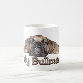 I Love My Bullmastiff Mug