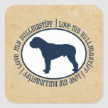 i love my Bullmastiff Sticker