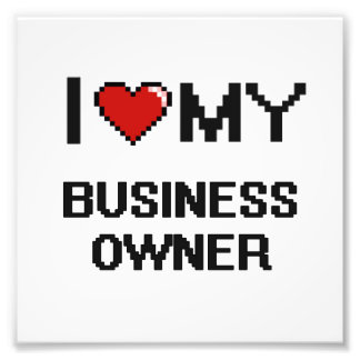 I love my Business Owner Photograph