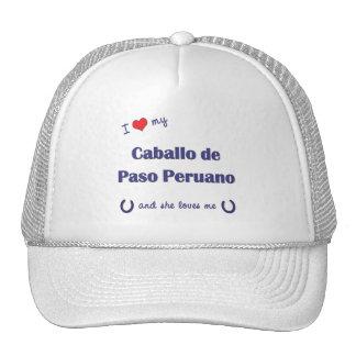 I Love My Caballo de Paso Peruano (Female Horse) Trucker Hats