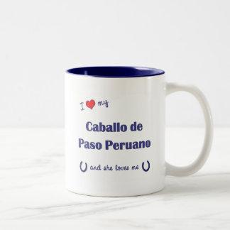 I Love My Caballo de Paso Peruano (Female Horse) Mug