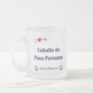 I Love My Caballo de Paso Peruano (Male Horse) Coffee Mug