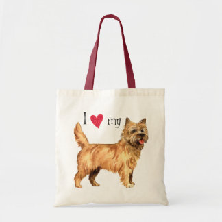 I Love my Cairn Terrier Tote Bag