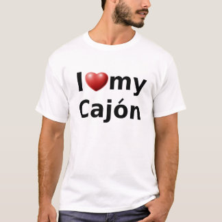 I Love My Cajón T-Shirt