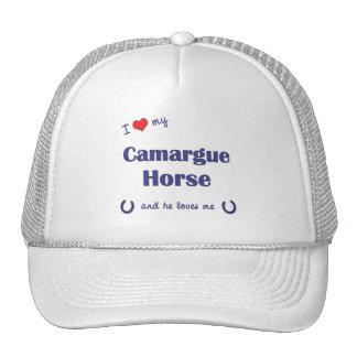 I Love My Camargue Horse (Male Horse) Trucker Hats