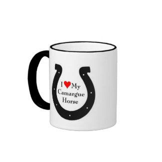I love my Camargue Pony Ringer Mug