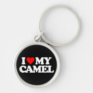 I LOVE MY CAMEL KEY RING