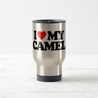 I LOVE MY CAMEL TRAVEL MUG