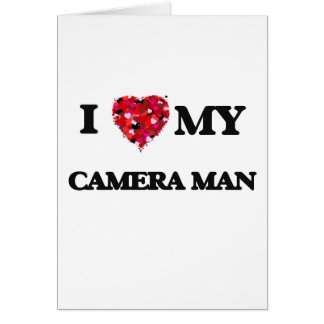 I love my Camera Man Card