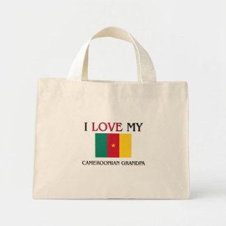 I Love My Cameroonian Grandpa Mini Tote Bag