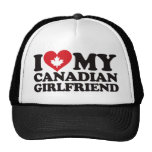 I Love My Canadian Girlfriend Mesh Hat
