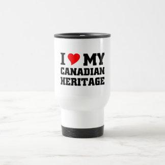 I love my Canadian Heritage Stainless Steel Travel Mug