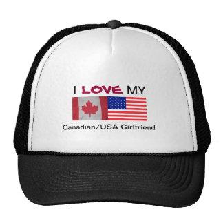 I, LOVE, MY, Canadian/USA Girl... hat