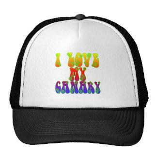 I Love My Canary Cap