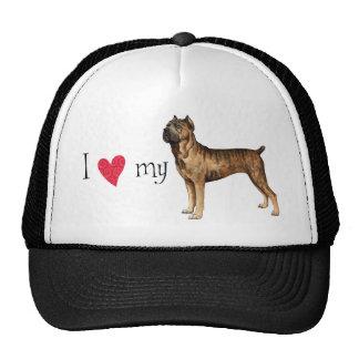I Love my Cane Corso Trucker Hat