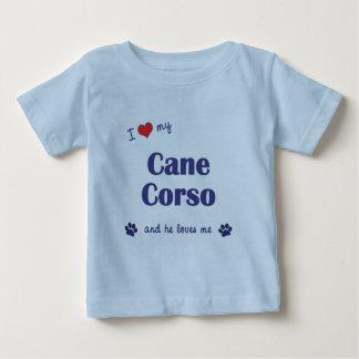 I Love My Cane Corso (Male Dog) Baby T-Shirt
